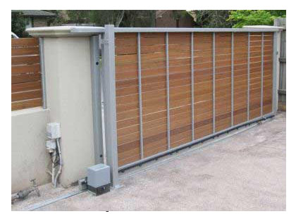 Delicieux We Are Proud To Offer World Class Automatic Sliding Gates That Are Made  From Premium Quality Materials Which Offer Durable And Strong Structure To  Them.